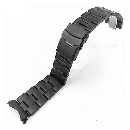 ZZDH correas relojes acero inoxidable 20 mm 22 mm de acero inoxidable completo de acero inoxidable de metal universal de la banda del reloj de la cinta de la pulsera de la brazalete de la correa de la
