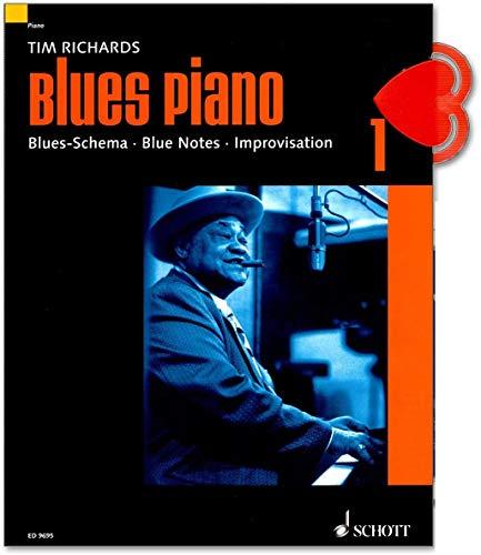 Blues Piano 1 von Tim Richards - Blues-Schema - Blue Notes - Improvisation - mit Online Audio, NK - Neuausgabe 2019 - ED9695 9783795757274