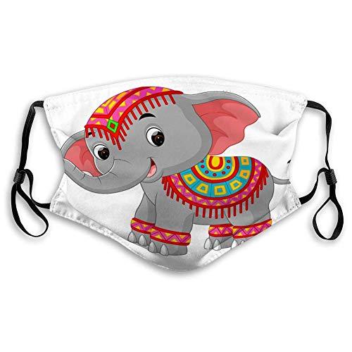 Outdoor Cover cartoon olifant traditionele kostuum Perfect