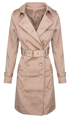 Rock Creek Selection Trenchcoat dames designer jas overgang jas vintage mantel D-312 S-XL