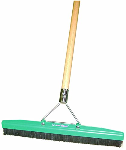Grandi Groom AB28 Carpet Brush, 18-Inch Head, 54-Inch Handle, Blue
