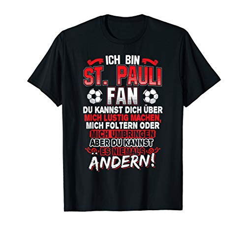 Paulianer Hamburg Sankt Pauli Fan | St. Pauli Geschenk T-Shirt