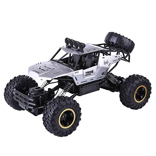 Leic RC Off-Road Vehicle Model 2.4G 4WD 37cm RC Rock Crawler Monster Truck Racing Car Toy Festival Gift for Kids Adult