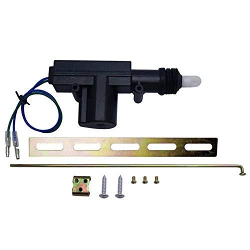 12V Centrale deurvergrendeling Motors Kit met 2 Wire Actuator for Auto voertuig Single gun aandrijfmotor Auto accessoires