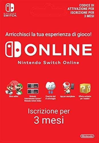 90 Giorni Switch Online Membri (Individual)   Nintendo Switch - Codice download