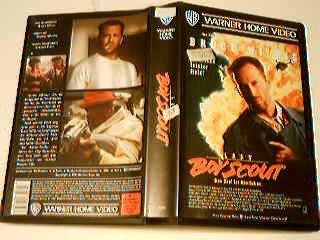 Last Boy Scout VHS