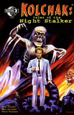 Kolchak: Tales of the Night Stalker #5A VF/NM ; Moonstone comic book