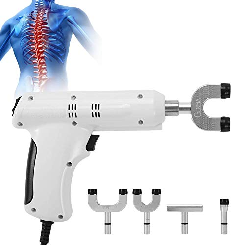 Electric Spine Chiropractor - Electric Massage Gun for Adjust 3-Level Chiropractic Adjustment Tool, for Electric Massagers Electric-Back-Massagers Complete Muscle Relaxation(Us)