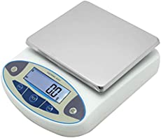 CGOLDENWALL Lab Scale 5kgx0.1g Digital Precision Scale Electronic Balance Laboratory Weighing Industrial Scale Kitchen Counting Scale Scientific Scale Calibrated (5kg, 0.1g)
