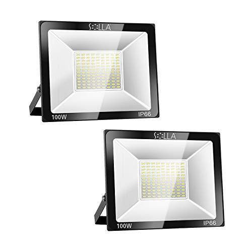 Solla 2 Pack 100W LED Flood Light