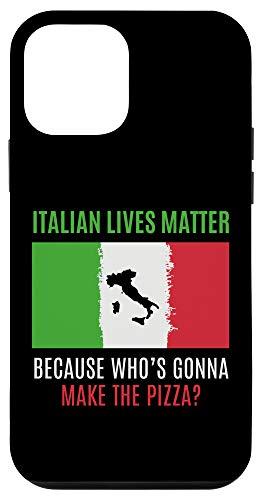 iPhone 12 mini Italian Lives Matter Funny ILM Italia Quote Italia Case