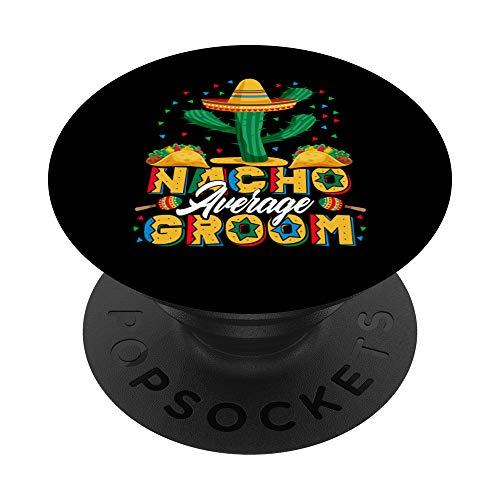 Cinco De Mayo Nacho Promedio Amante de los Nachos PopSockets PopGrip: Agarre intercambiable para Teléfonos y Tabletas