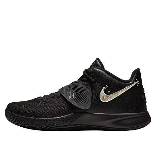 Nike Kyrie Flytrap Iii Bq3060-008 - Zapatillas de baloncesto para hombre, Negro (Negro/Mtlc Gold Star), 39.5 EU