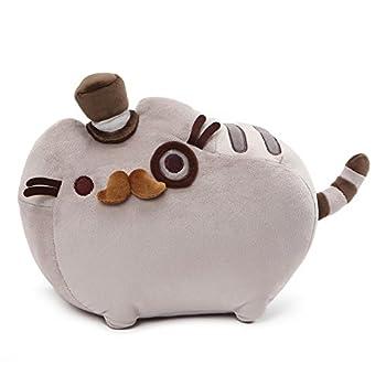GUND Pusheen Fancy Cat Plush Stuffed Animal Gray 12.5