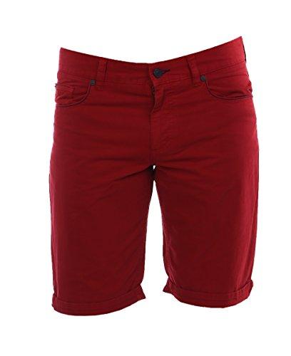 ALBERTO Herren Shorts Pipe-K Soft Cotton 4567-1706-350 red Garment Dyed Regular Slim fit (33W)