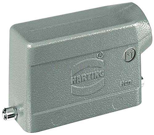 HARTING - 19300161541 Heavy Duty Max 69% OFF Alumini Pegs OFFicial shop Connector Hood 2