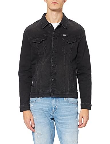 LTB Jeans Santino Chaqueta de Jean, Elthor Wash 53364, M para Hombre