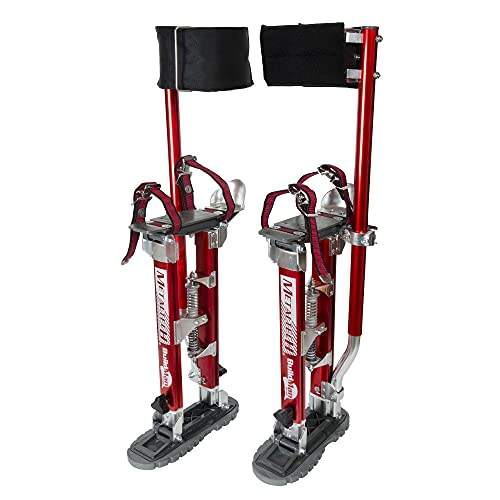 Metaltech BuildMan Grade Drywall Adjustable Stilts 24 in. to 40 in with 225 Pound Load Capacity
