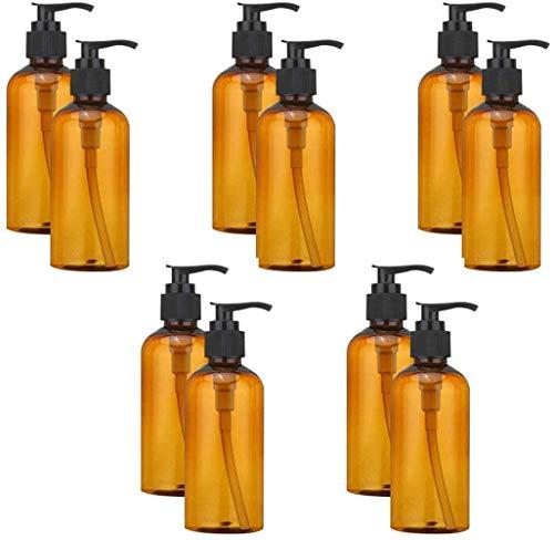 PCS-100 24 ML Bouteille en Plastique huiles de Parfum de pulvérisation Claire, Bonne Bouteille brumisateur gonflables 3,5 onces (Bernstein 12),Bernstein 24