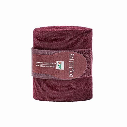 Bandagen Wolle 4 m Farbe: bordeaux