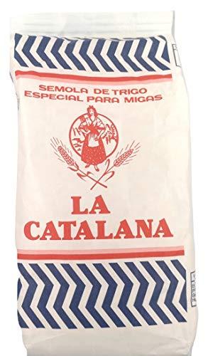 Sémola de trigo - Especial para migas - LA CATALANA - 1000 gramos