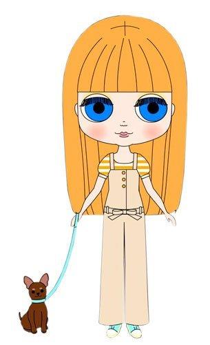 Blythe: General Doll Simply Mango Fashion Doll