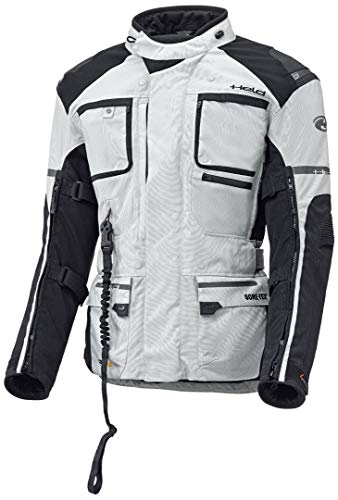 Held Carese APS Airbag Gore-Tex Jacke, Farbe grau-schwarz, Größe XL