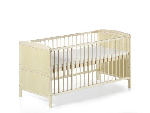 Schardt 040761901 Kombi-Kinderbett Conny 70 x 140 cm, natur lackiert