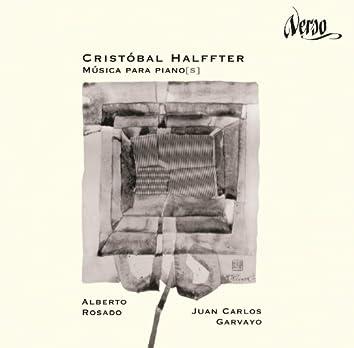 Cristóbal Halffter: Música para piano[s]
