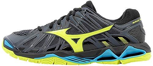 Mizuno Herren Wave Tornado X2 Sneakers, Mehrfarbig (O Blue/Syellow/Hocean 001), 42.5 EU