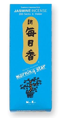 Nippon Kodo Morning Star Jazmín Incienso, 200 Barritas