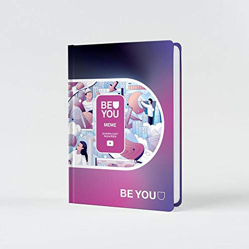Be You - Diario 2020/2021 - Meme Easy colore dark mode - Giochi Preziosi