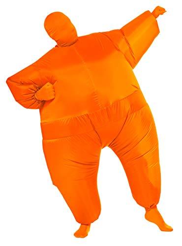 Rubie's Inflatable Full Body Suit Costume, Orange, One Size