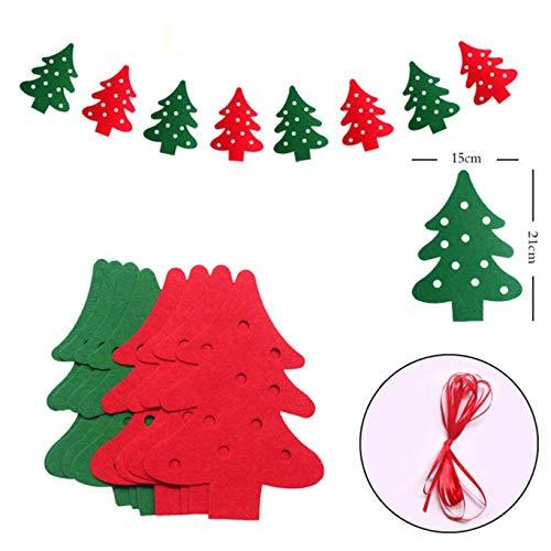 Djryj Raro Kerstmis slinger Banner Vrolijk Kerstmis decoratie party kinderen huis knutselen slingers Kerstmis eland sokken vlaggen Nieuwjaar
