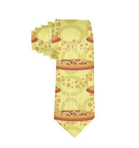 Corbata para hombre, corbata clásica, informal, formal, elegante, para pasta y pizza, para boda, fiesta, graduación, negocios