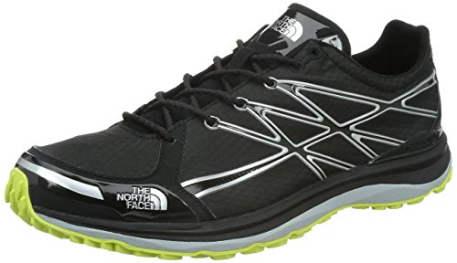The North Face M Ultra TR II, Zapatillas de Senderismo Hombre, Negro/Amarillo, 40 EU