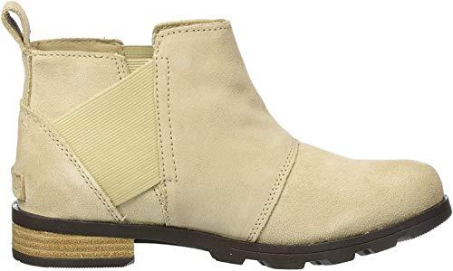 Sorel Damen Chelsea Stiefel, Emelie Chelsea, beige (oatmeal), Größe: 43
