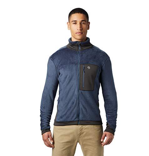 Mountain Hardwear Men's Standard Polartec High Loft Jacket, Zinc, Large