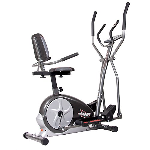 Body Champ 3-in-1 Trio-Trainer Workout Machine, BRT3858