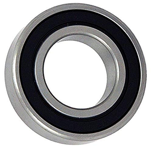 Big Bearing 2206-2RS Self Aligning Ball Bearing, 2 Rubber Seals, 30 mm Bore, 62 mm Outside Diameter, 20 mm Width, Metal/Rubber