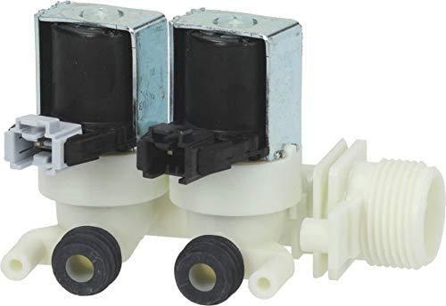 Ariston Indesit - Electroválvula de lavadora con carga de agua, 2 vías, 180°, C00110333