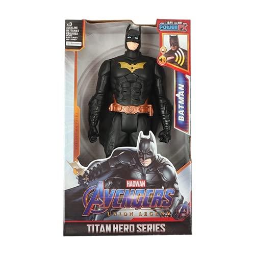 12''/30cm Marvel Avengers Hulk Capitán América Spiderman Wolverine Venom Iron Man Thor Groot Figuras de Acción Juguete para Regalos de Niños (b with Box)