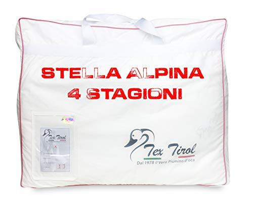 Piumino Oca Tex Tirol  Stella Alpina 4 Stagioni 100% Piumino Oca Matrimoniale CM. 250X200