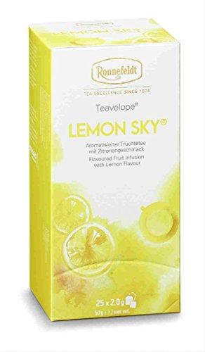 Ronnefeldt Lemon Sky, 25 Beutel aromatisierter Früchtetee, 50 g, 6er Pack (6 x 50 g)