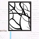 XWArtpic Kreative Abstrakte Einfache Linie Grafiken Pflanzen Malerei qualität HD Wohnkultur Kunst Decor Room Living Poster leinwand malerei 80 * 120 cm