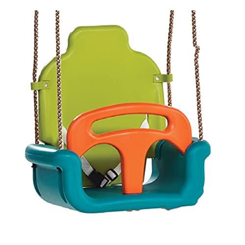 MiduoHu 3 En 1 Columpios Infantiles para Bebés Niños Cinturón de Seguridad Desmontable Multifuncional Versión Mejorada, para Casa Jardín Interiores o Exteriores (Color : A PP Rope)