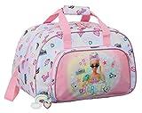Safta 712110273 Bolsa de Deporte de Barbie Girl Power, 400x230x240mm, multicolor, talla única