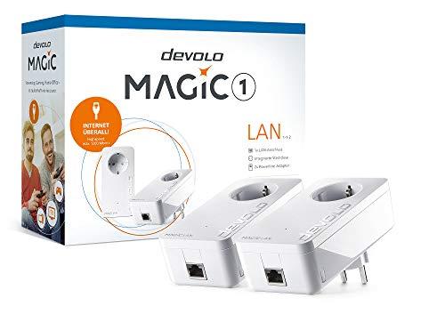 Devolo 8295 Magic 1 LAN 1-1-2 DE/at Powerline Starter Kit 1200MBit/s