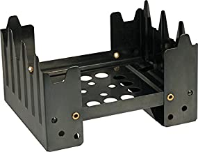 UST Folding Stove 1.0 with Lightweight, Durable Construction for Backpacking, Camping, Hunting, Emergency and Outdoor Survival