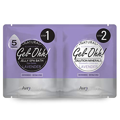 Jelly Pedicure marca AVRY BEAUTY